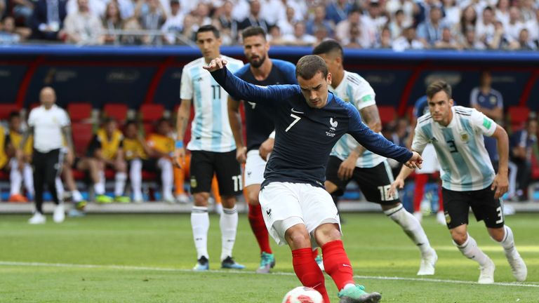 Antoine Griezmann will be a key figure for France against Belgium