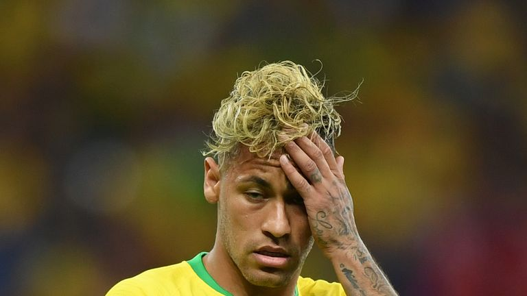 Neymar shows his frustration as Brazil are stymied by Switzerland