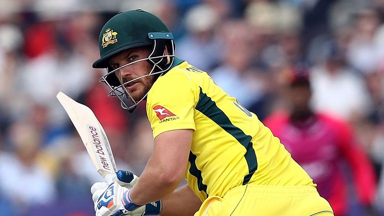 Opener and vice-captain Aaron Finch will look to give Australia a strong start