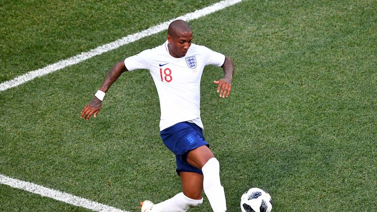 Ashley Young is England's third-most experienced penalty taker