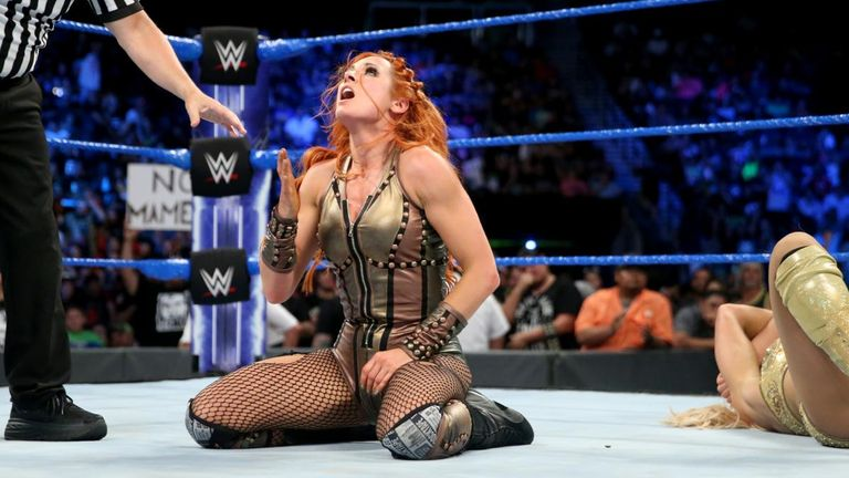 Becky Lynch secured an impressive tap-out victory over Charlotte Flair to build momentum for Sunday night