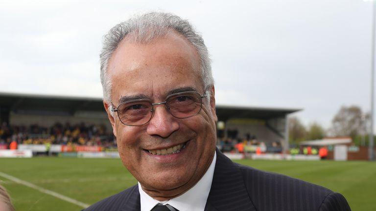 Robinson bought Burton Albion in 1995