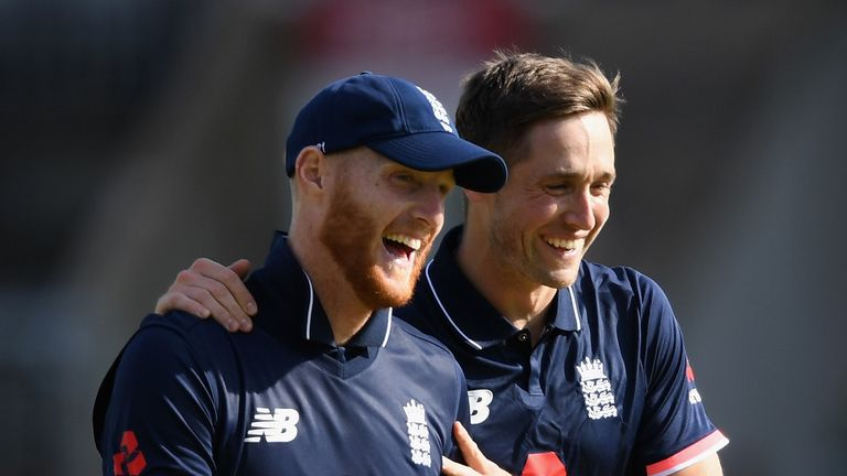 Ben Stokes and Chris Woakes were out injured at the same time.