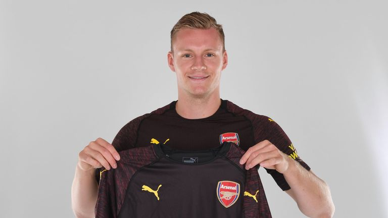 Goalkeeper Bernd Leno is expected to provide competition for Petr Cech