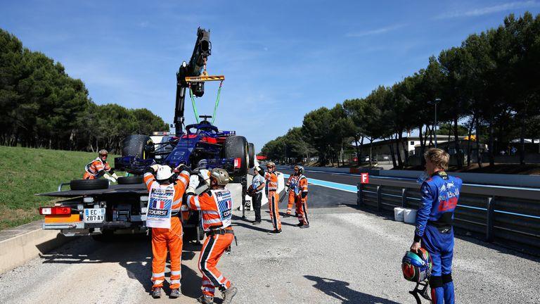 Brendon Hartley set for back of the grid start after engine change
