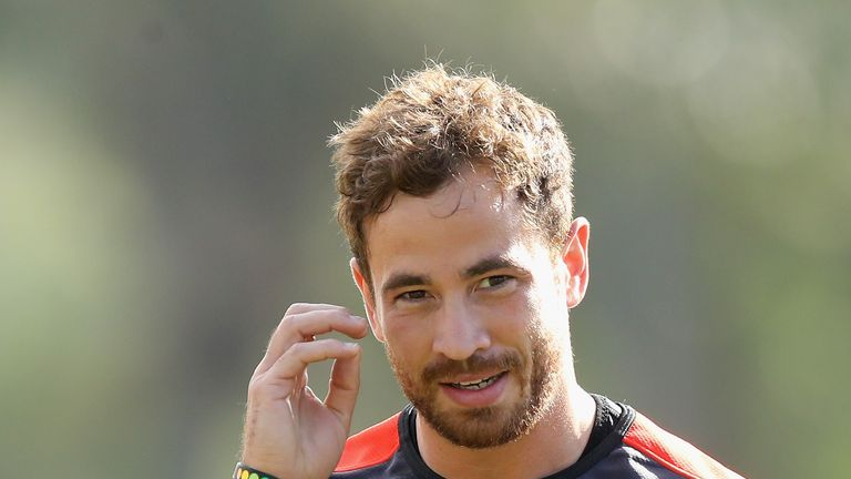 Danny Cipriani will make his first England start since 2008