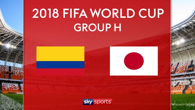 Japan Defeats Colombia 2-1 in World Cup