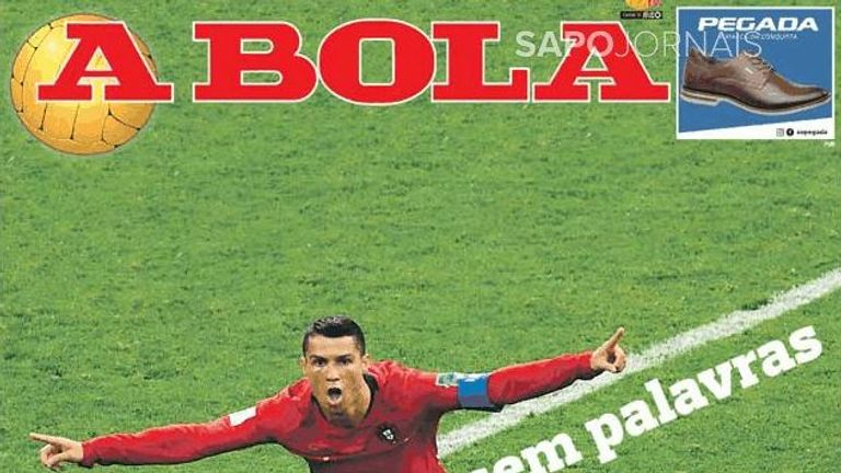 Portuguese paper A Bola say they are left