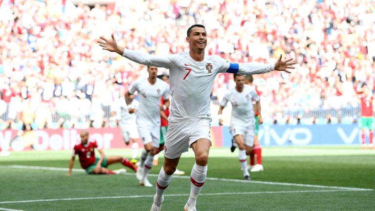 Portugal 1-0 Morocco: Cristiano Ronaldo breaks European record