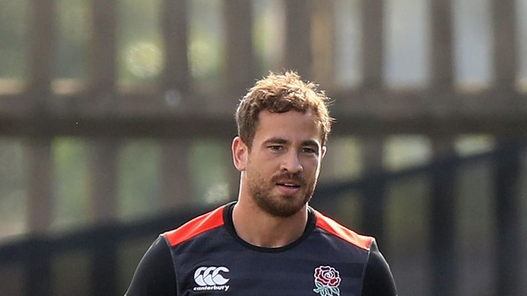 Danny Cipriani at flyhalf for England