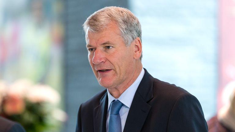 FIFA Council member David Gill