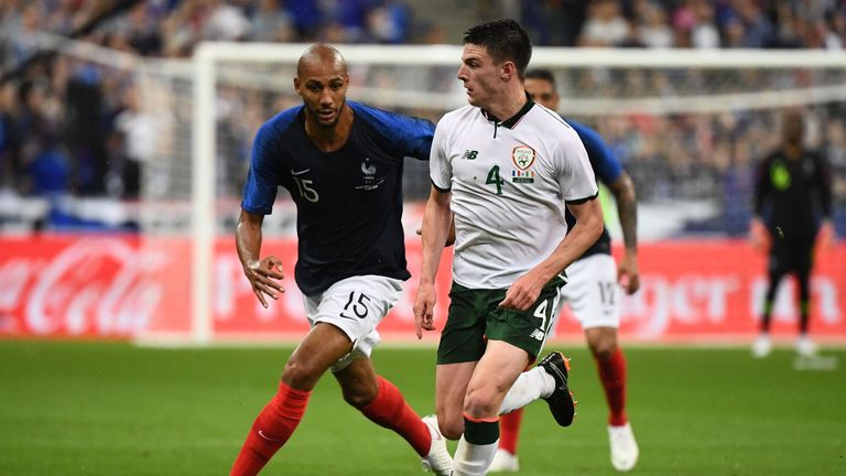 Declan Rice has played down talk of switching from Republic of Ireland to England