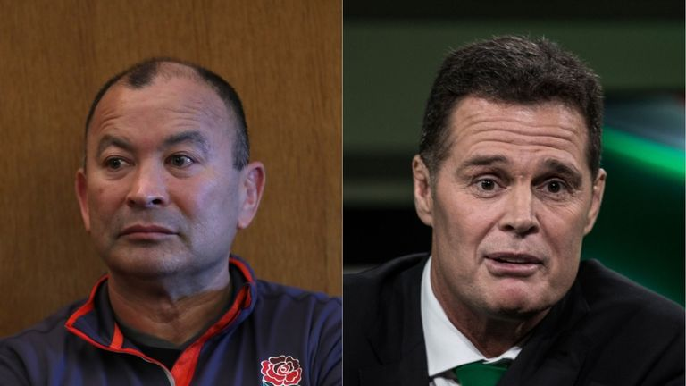 England coach Eddie Jones dismisses confrontation with South Africa fans