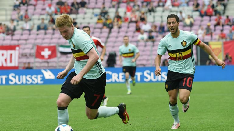 Kevin De Bruyne has told Eden Hazard to stay calm if he receives rough challenges