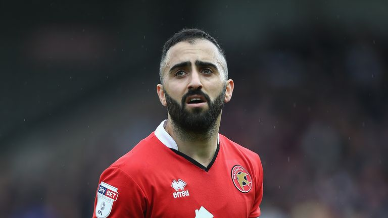 Erhun Oztumer will be playing with Bolton in the Championship next season