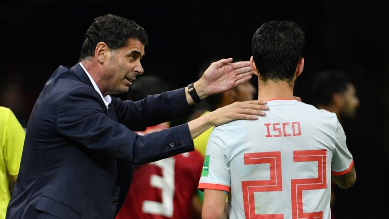Iran staff member hospitalized during Spain game
