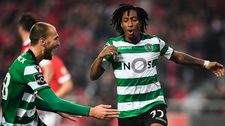 Gelson Martins is a target for Arsenal, according to Sky sources
