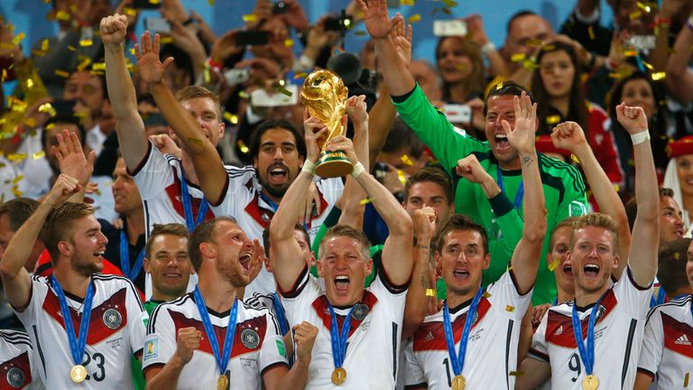 Reigning world champions Germany top the Sky Sports World Rankings