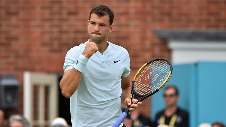 Djokovic lines up Dimitrov in 2nd round at Queen's Club