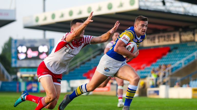 Jack Walker has been a bright spark for Leeds at full-back