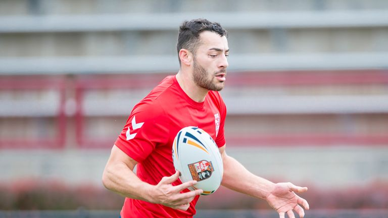 Jake Connor was called up from the England Knights