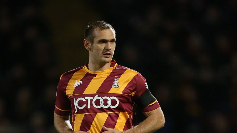 James Hanson scored 91 goals for Bradford City before joining Sheffield United in January 2017