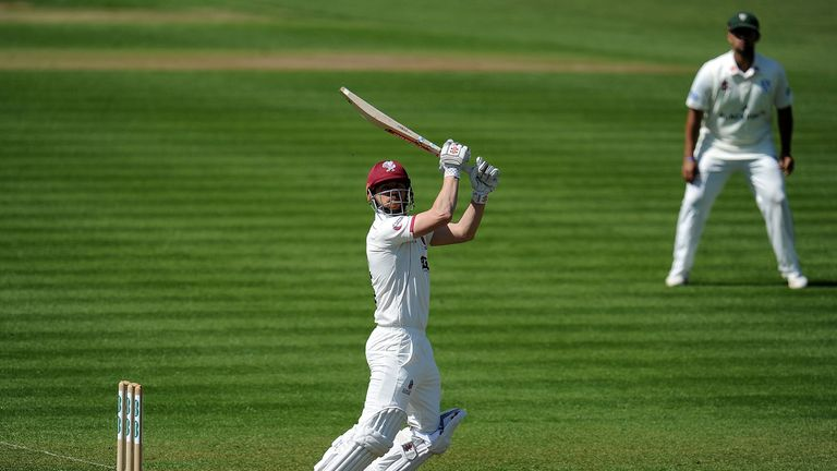 James Hildreth helped Somerset avoid the follow-on against Essex