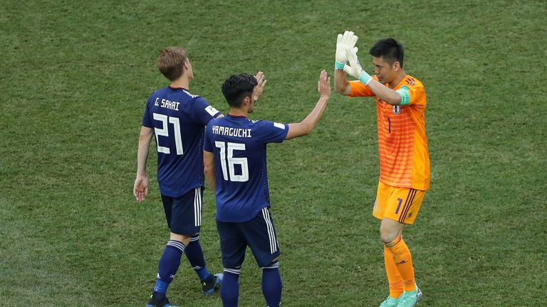 Japan squeezed into the last 16
