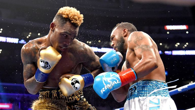 Jermell Charlo beat Austin Trout to defend his WBC belt