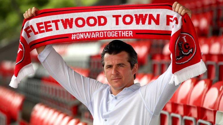 Joey Barton will lead Fleetwood into the new season's competition
