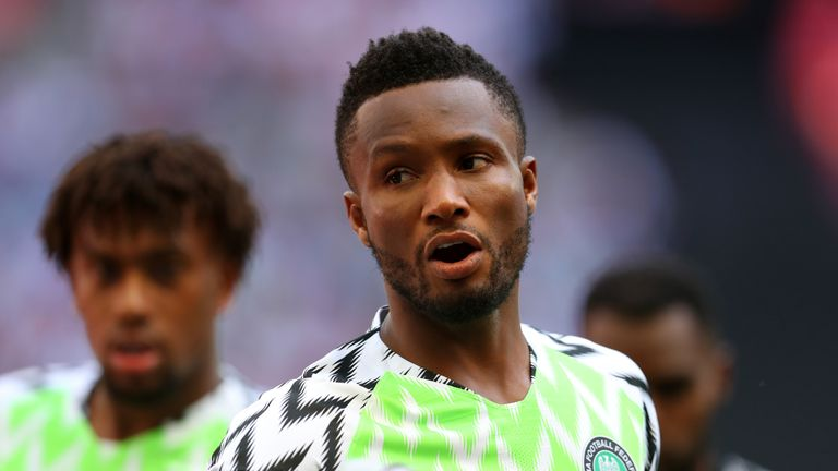 John Obi Mikel's Nigeria will be wearing one of the more colourful kits in Russia