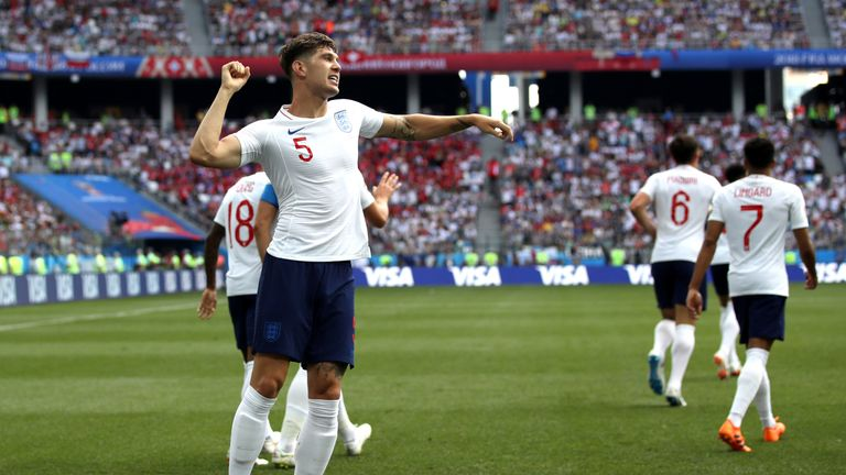 John Stones' double against Panama both came from set-pieces