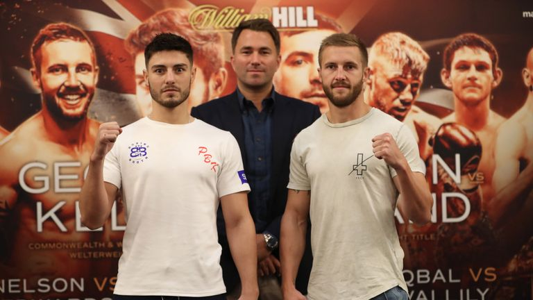 Josh Kelly challenges Kris George for Commonwealth title, live on Sky Sports