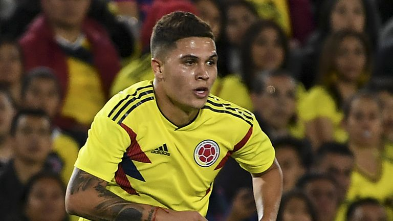Juan Fernando Quintero is tipped to star at the World Cup