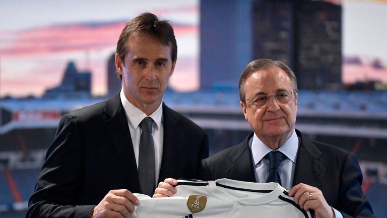 Florentino Perez accused the Spanish Football Federation of showing disrespect to Madrid after sacking Lopetegui