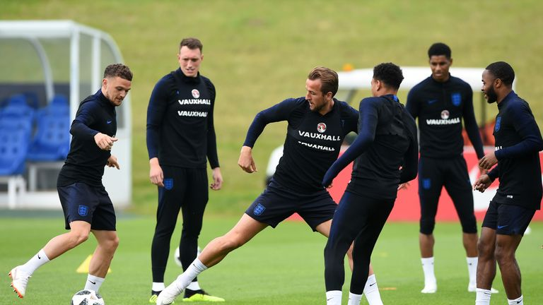 Trippier says Kane is a great leader on and off the pitch