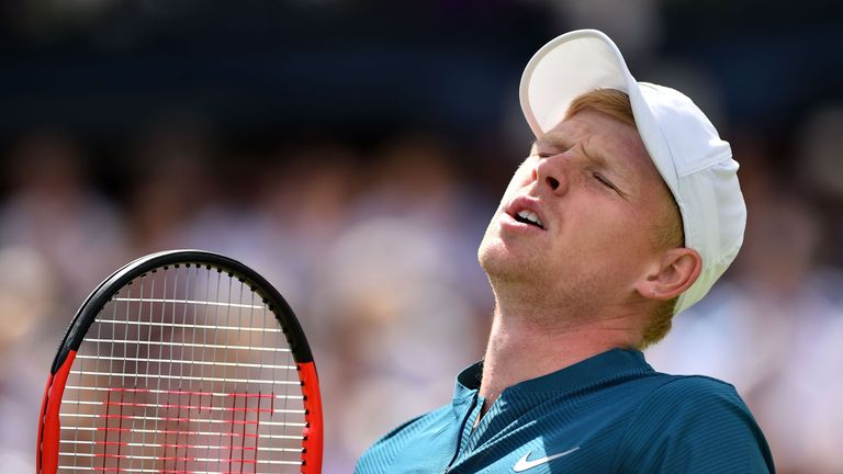 Kyle Edmund Queen's Club hopes were dashed by Nick Kyrgios