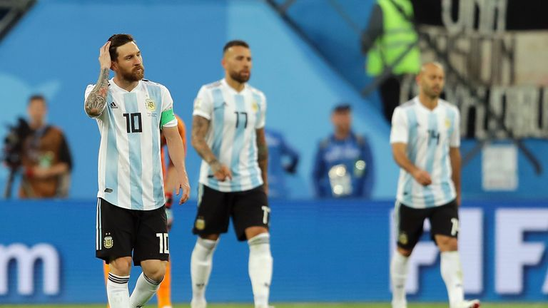 Argentina were heading out until Rojo popped up in the 86th minute