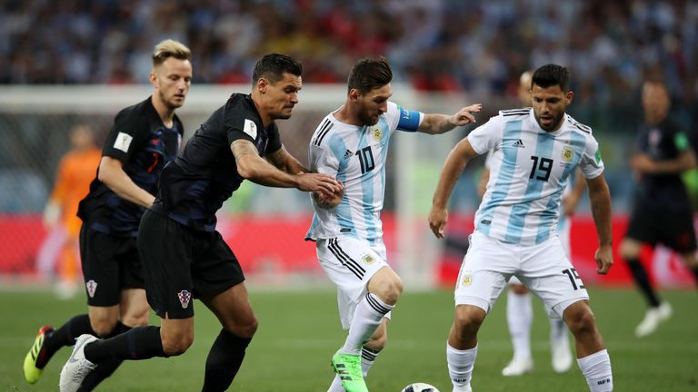 Argentina lost 3-0 to Croatia in their second group game