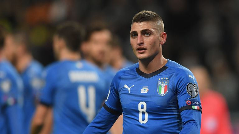 Marco Verratti has reportedly been offered to Manchester United