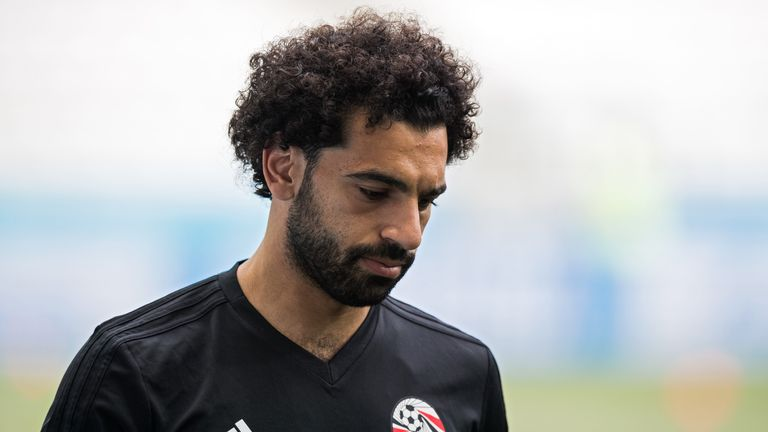 Mohamed Salah is available for the tournament