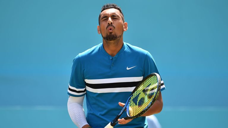 BBC forced to apologise due to Nick Kyrgios' actions during Queen's match