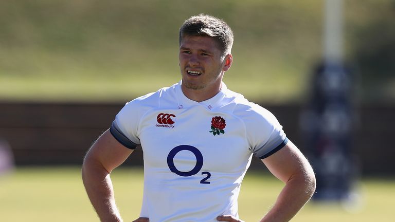 Owen Farrell will captain England