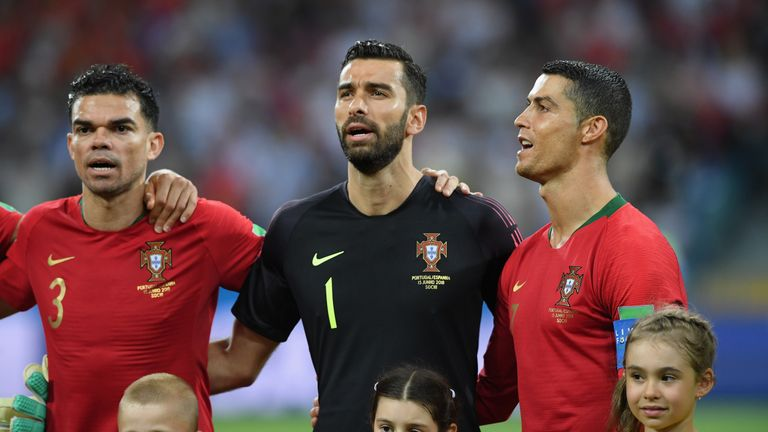 Wolves sign Portugal goalkeeper Rui Patricio following Sporting resignation