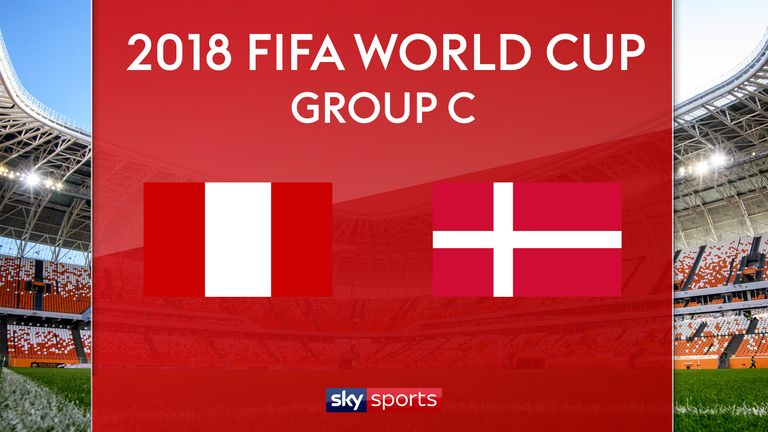 FIFA World Cup 2018 Live Score, Denmark vs Peru Live Streaming