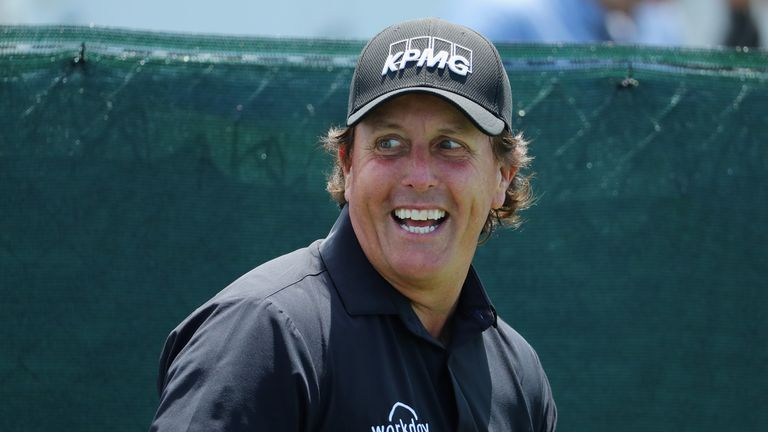 Phil Mickelson is chasing a sixth major title
