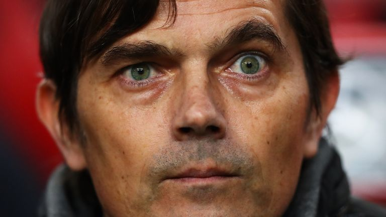 Mark Van Bommel appointed PSV boss as Phillip Cocu leaves