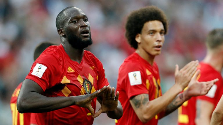 Eden Hazard and Romelu Lukaku are injury doubts for crucial England showdown