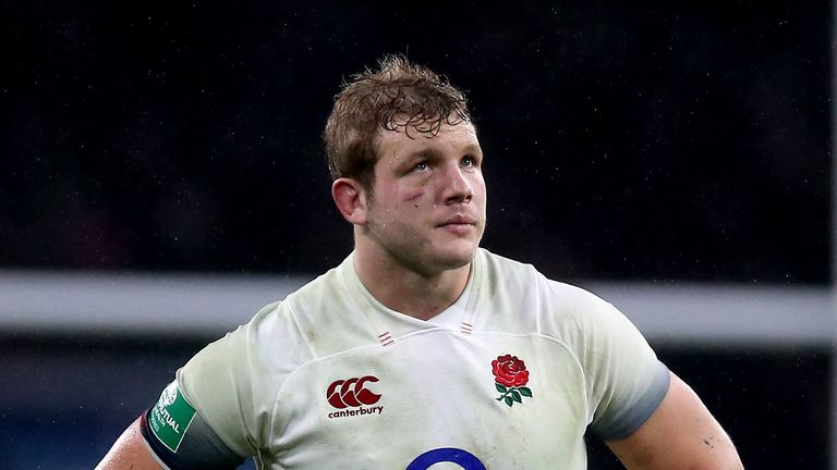 England second row Joe Launchbury is back from injury and is the only other change to the XV