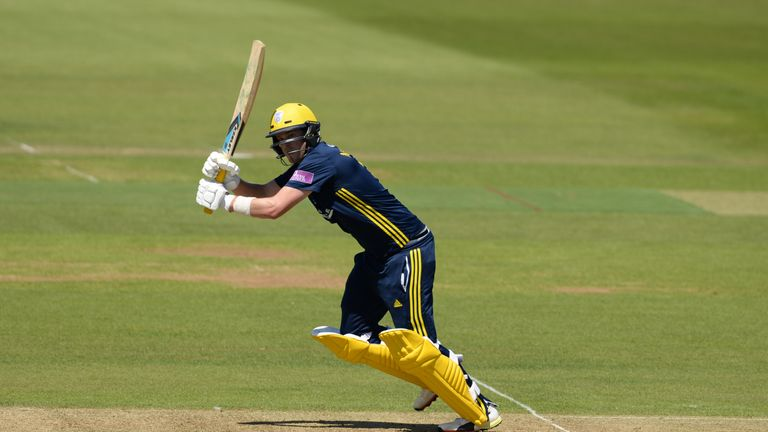 Sam Northeast has a 'point to prove' with Hampshire after his offseason move from Kent